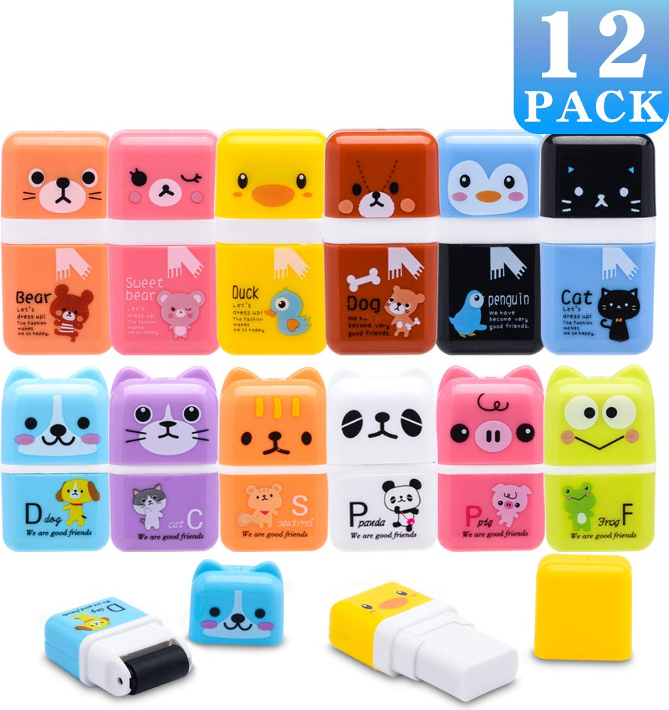 PENCIL ERASER RUBBERS,PERFECT FOR SCHOOL,BIRTHDAY PARTY BAG FILLERS,COLLECTING