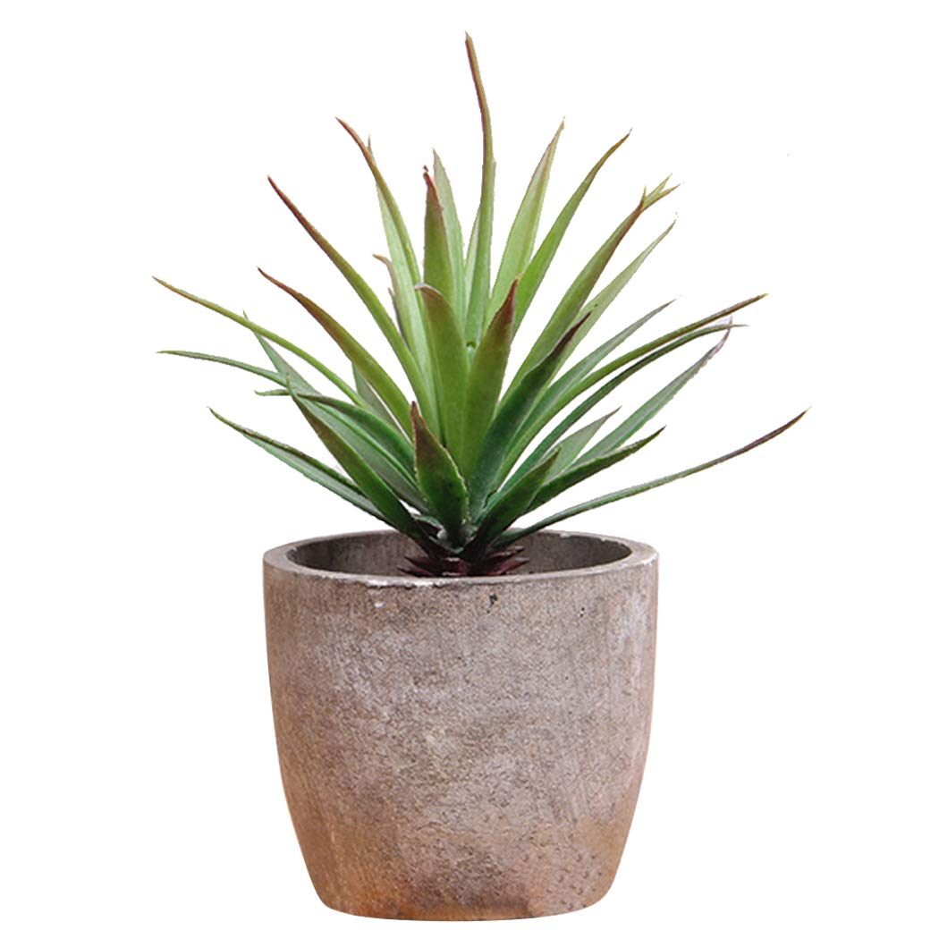 Artificial Plant Set Fashion Succulent in The Pot Fake Plant Artificial Succulent Home Decor Outgeek