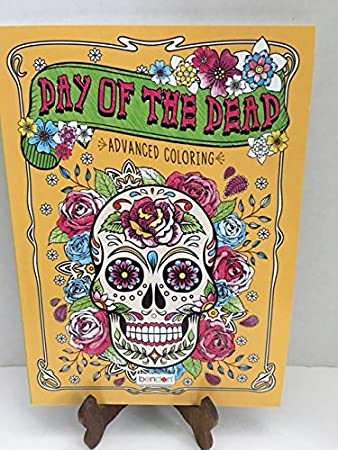 day of the dead advanced coloring book for adults - Day Of The Dead Coloring Book
