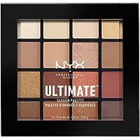 NYX PROFESSIONAL MAKEUP 专业彩妆 Ultimate眼影盘, 温暖中性色, 0.02 oz /0.83 g