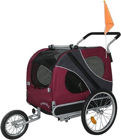 DOGGYHUT - Remolque para perro para arrastre por bicicleta (tamaño ...