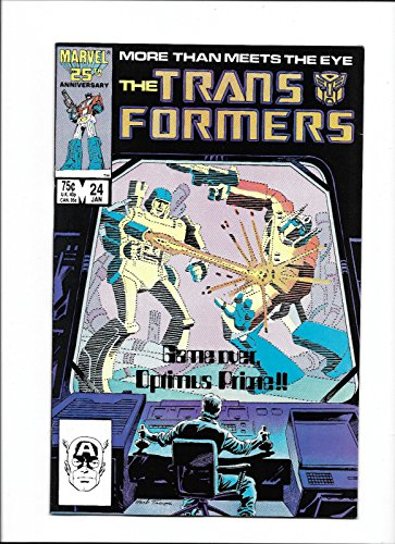 """TRANSFORMERS #24 [1987 FN] """"GAME-OVER, OPTIMUS PRIME"""""""