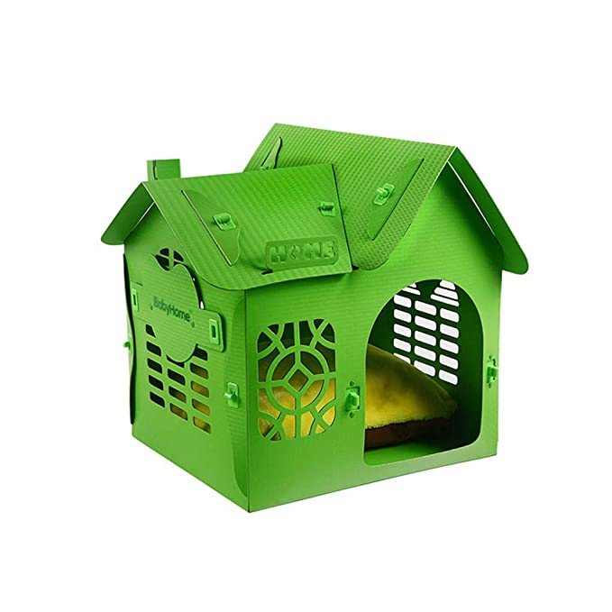 KYCD Perrera, Nido para Mascotas, Plástico, Camada para Perros, Casa, Villa, Cuatro Estaciones, Universal, Lavable, Caseta para Perros Pequeña, ...