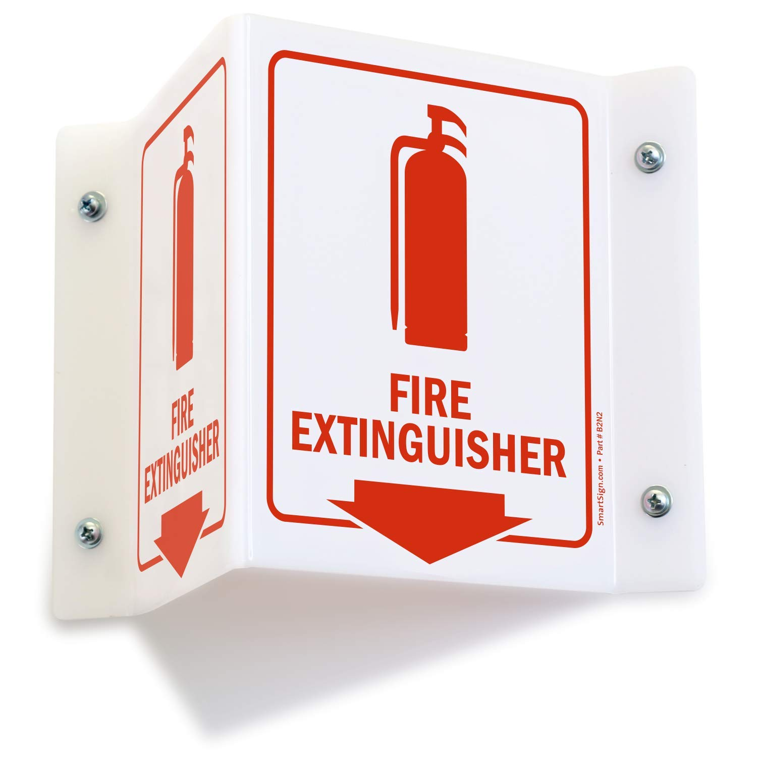 """SmartSign""""Fire Extinguisher"""" Projecting Sign 