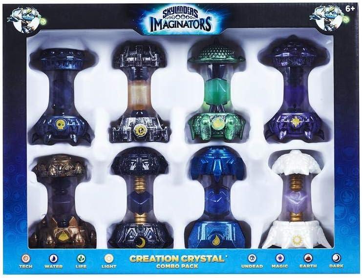 Skylanders Imaginators - Combo Pack: 8 Cristalli [Importación Italiana]: Amazon.es: Videojuegos