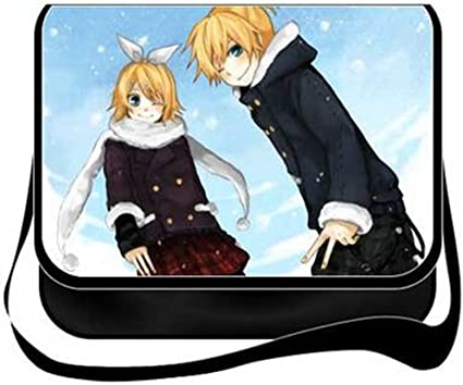 Gumstyle Vocaloid 2 Kagamine Rin//Len Anime Cosplay Handbag Messenger Bag Shoulder School Bags