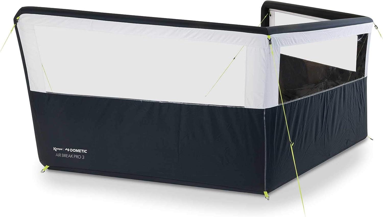 Kampa Air Break Pro - Paravientos hinchable para caravana (3 paneles, WB0004 2018)