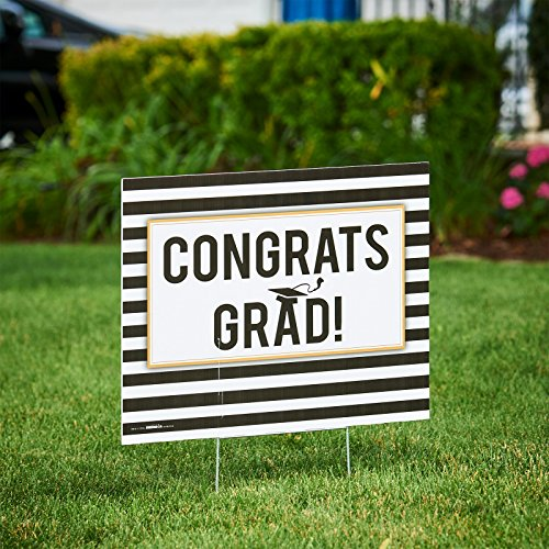 Congrats Grad Yard Sign - 7