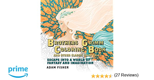 Dream Cities Coloring Book Review Amazon A Brothers Grimm And
