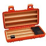 Jifeng Travel cigar humidor,cedar wood waterproof