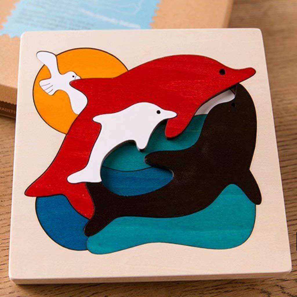 Puzzle rompecabezas de Madera Modelo de rompecabezas Tridimensionale de de de Madera Modelo de juguete para Niños 23b678