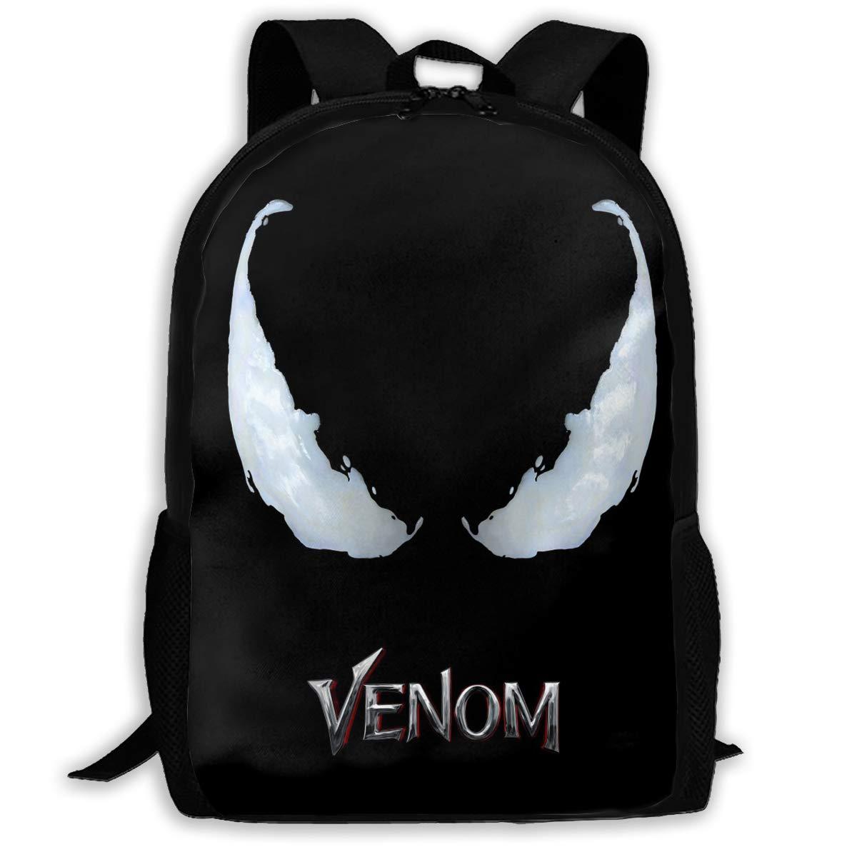 TTioo Venom 3D 大人用 アウトドア レジャー スポーツ バックパック 学校 バックパック One Size  B07KV8ZGLX