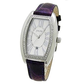c6b459d554 [フォリフォリ]Folli Follie 腕時計 WF7A021SDSPU パープル/シルバー/クリスタル 革ベルト 時計