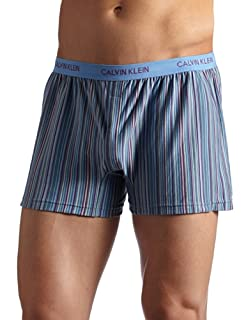 promo codes cheaper sale discount sale Calvin Klein Men's Matrix-Knit Slim Fit Boxer, Cooper Stripe ...