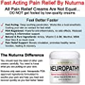 Neuropathy Pain Relief Cream - Clinical Strength Nerve Support for Leg Hand Foot Toe Pain Relief, Large 3oz Ultra Strength Arnica, MSM, Menthol, Instant Soothing Relief, Fast-Acting Anti-Inflammatory