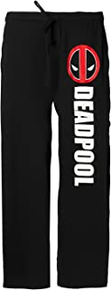 Deadpool Face Adult Lounge Pants
