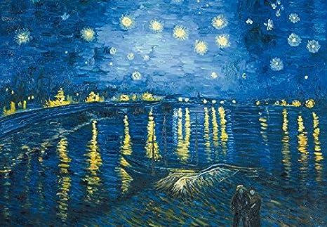 Vincent Van Gogh Notte Stellata Sul Rodano 1888 3 Parti