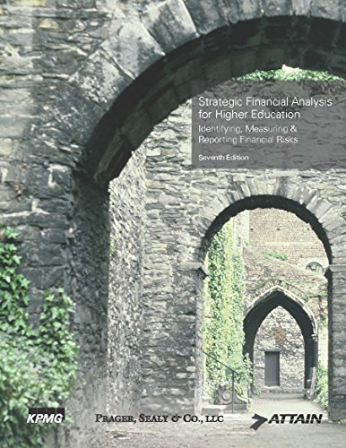 Strategic Financial Analysis for Higher Education: Identifying, Measuring & Reporting Financial Risks