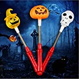 Heo Halloween Pumpkin Flashlight Festival Party Cheer Props 3pcs/set (1 set)