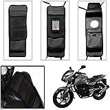 SRK Shoppers Utility Tank Bag for All Bikes,(Black)