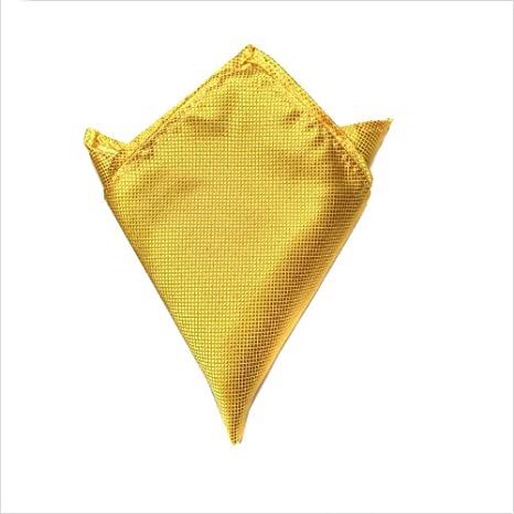 SKYyao Pañuelo de Bolsillo Hombres Traje Accesorios rayón de Bolsillo Toalla Pecho Bufanda Bufanda Vestido pañuelo
