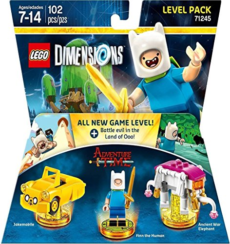 Lego Dimensions Starter Pack + Adventure Time Finn The Human Level Pack + Jake The Dog Team Pack + Marceline The Vampire Queen Fun Pack for Playstation 3 or PS3 Slim Console by WB Lego (Image #6)