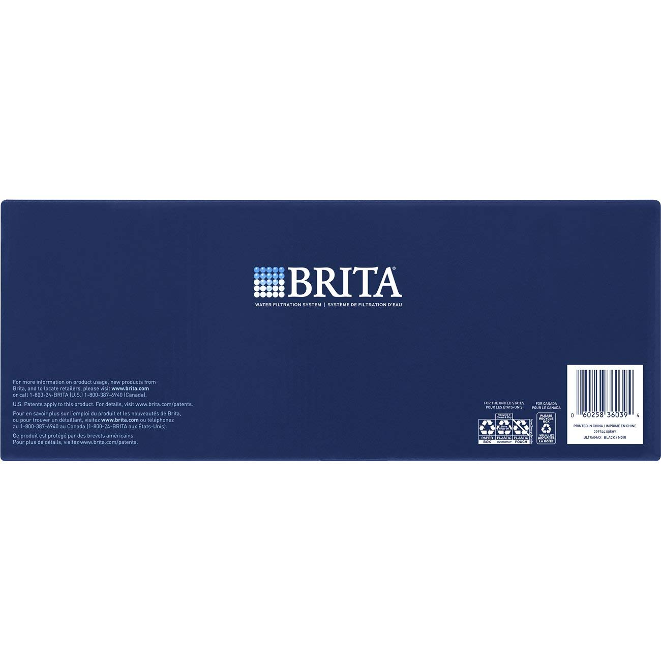 Brita Extra Large 18 Cup UltraMax Water Dispenser and Filter - BPA Free - Black by Brita (Image #10)