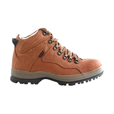 Red Chief Men's RC2506 Tan Leather Boots ...