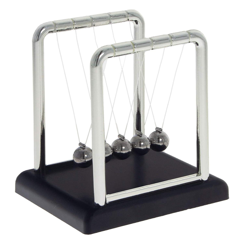 Kugelstoßpendel Metall Kugelpendel Schreibtisch Deko Newtonpendel Newtonwiege