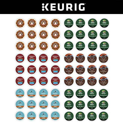Keurig Individual-Serve K-Cup Pods, Variety Pack, 72 Count (6 Boxes of 12 Pods)