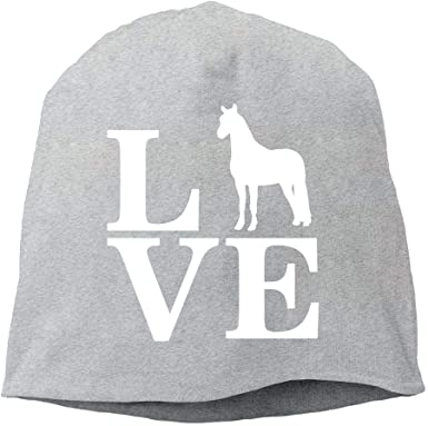 Love Pit Bull Men Women Winter Helmet Liner Fleece Skull Cap Beanie Hat for Hiking Black