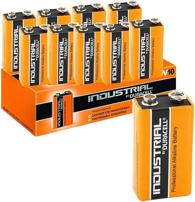 Volt Block MN1604 Batterien Duracell Industrial Batterie Neu 50x 9V