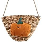 HAOWANG Cute Parent-child Summer Woven Bag Shell