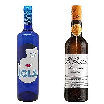 Lola Blanco Semidulce y Manzanilla La Guita - D. O. Campo de ...