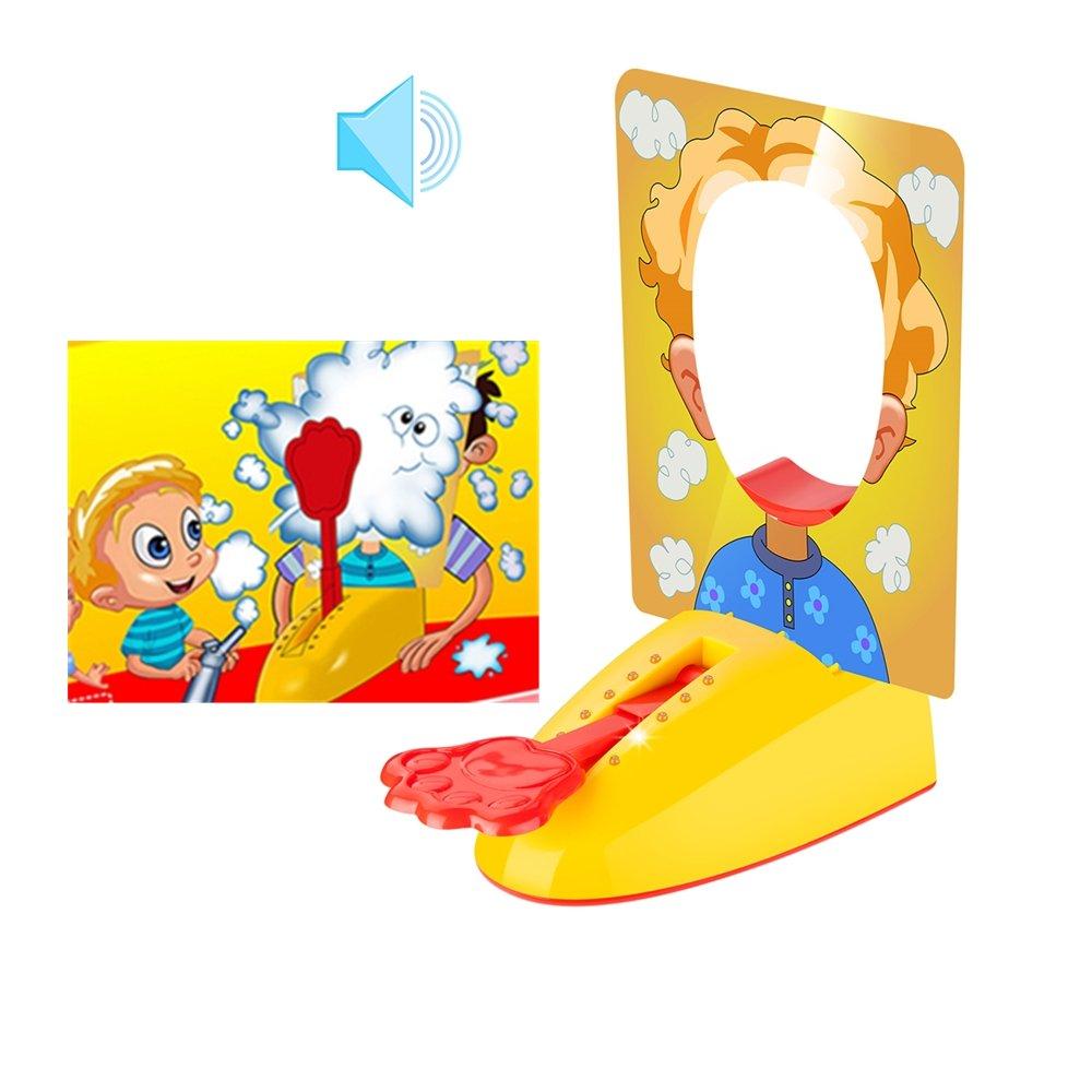Joyhouse Pie Face Showdown Game Hilarious Pie Splat with LED Lights Fun Sound Kids Friends Xmas Gift by Joyhouse