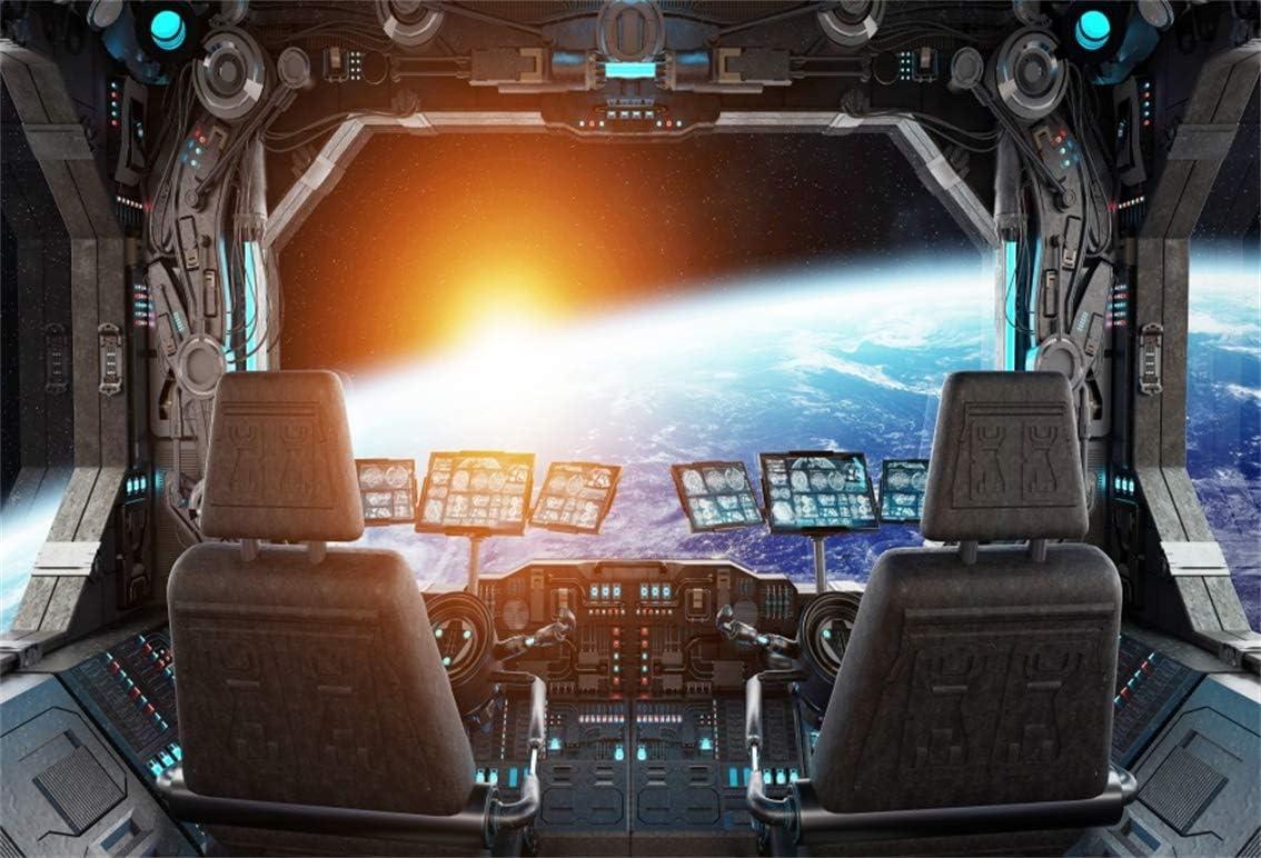 Leyiyi Fotohintergrund 3 X 2 M Raumstation Kamera