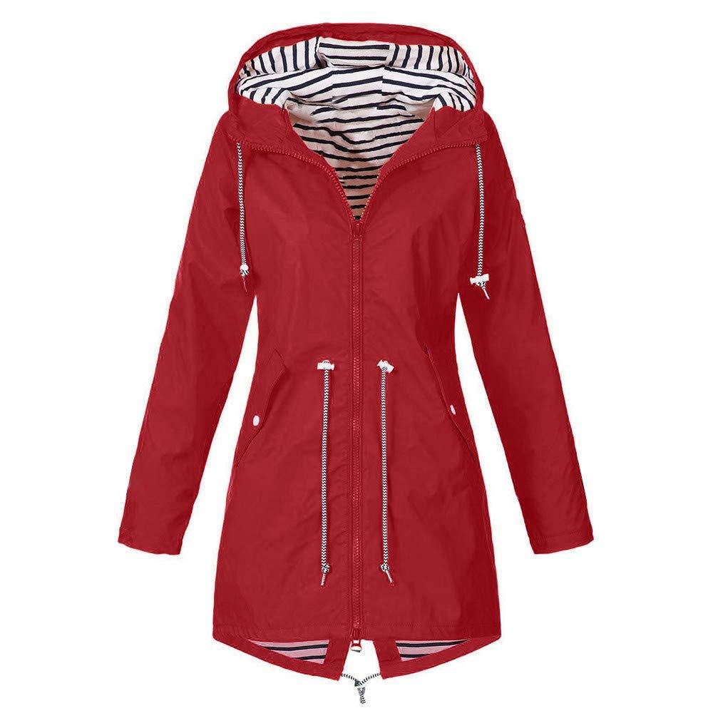 Cuekondy Women Men Cycling Jackets Long Sleeve Raincoat Hooded Outdoor Anti-UV Sunscreen Jacket Drawstring Adjustable