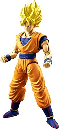 Bandai Hobby Dragon Ball Z Figure-Rise Super Saiyan Son Goku Model Kit USA