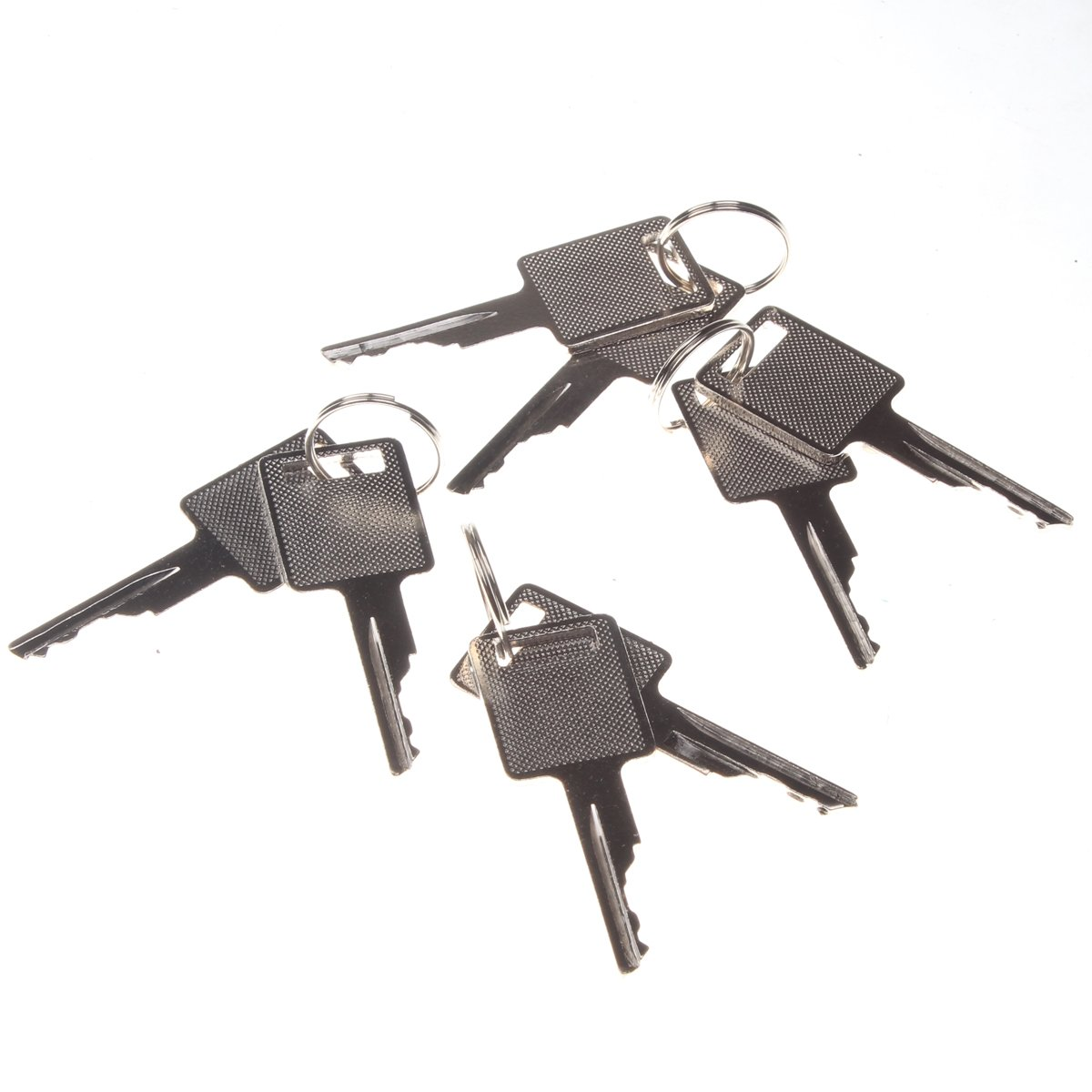Friday Part Ignition Key 6693241 for Bobcat 751 753 763 773 863 873 883 963 Skid Steer Loader(4 Pairs)