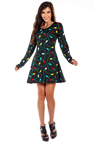 Women's Ugly Christmas Sweater Holiday Party Dress