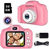 Cámara Digitale Selfie para Niñas Regalos para 3-8 Años de Edad Chicas Joyfun Cámara Fotos Digital 1080P Camara de Fotos…