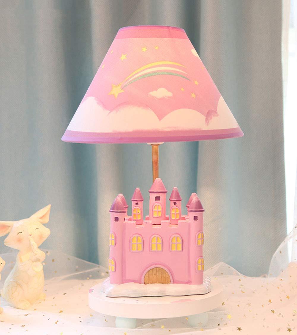 Amazon.com: SMC Princess Lámpara de mesa para dormitorio de ...
