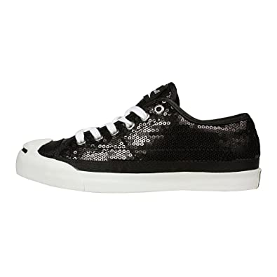 black sequin converse womens