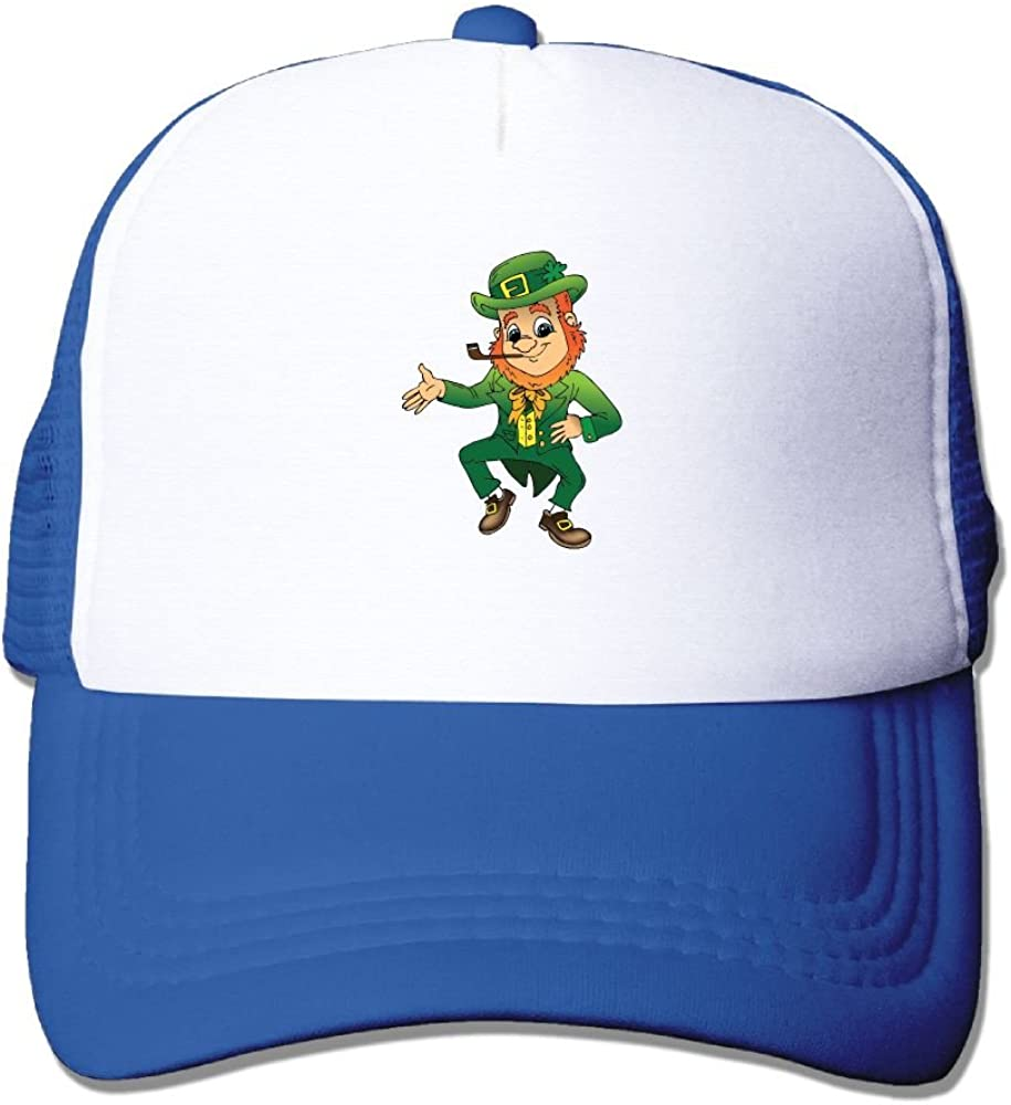 FeiTian ST Patricks Day Leprechaun Low Profile Baseball Caps For College Students Unique Great For Outdoor Climbing Fitted Hats