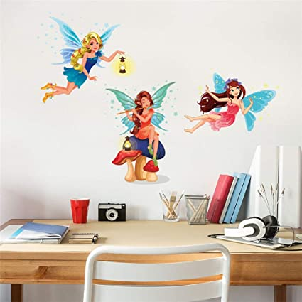 Amazon Home Decoration Beautiful Girls Bedrooms Wall Sticker New Pretty Girls Bedrooms Creative Decoration