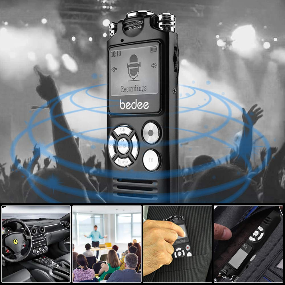 50% discount on Digital Voice Recorder, bedee 8GB Professional