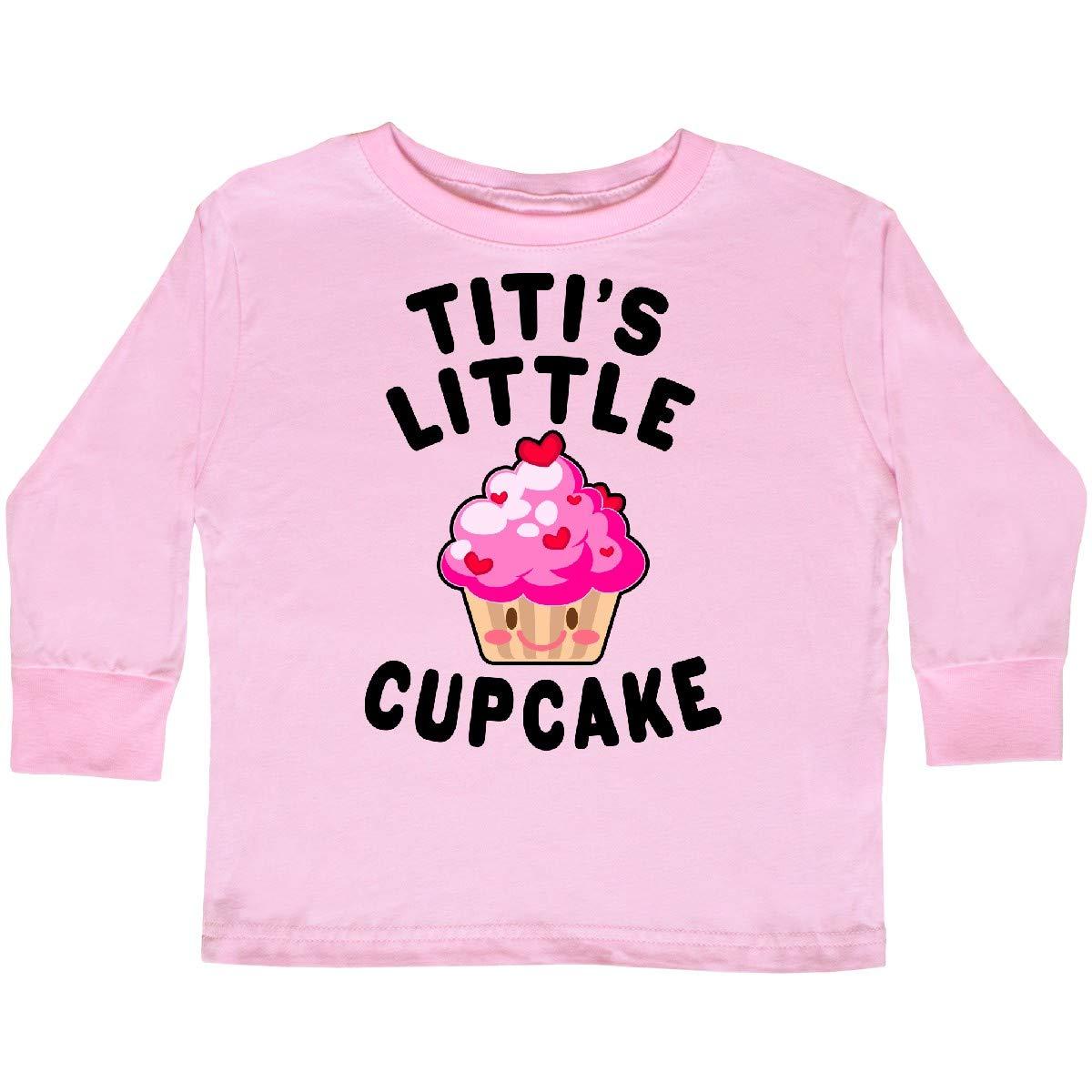 inktastic Titis Little Cupcake Toddler Long Sleeve T-Shirt