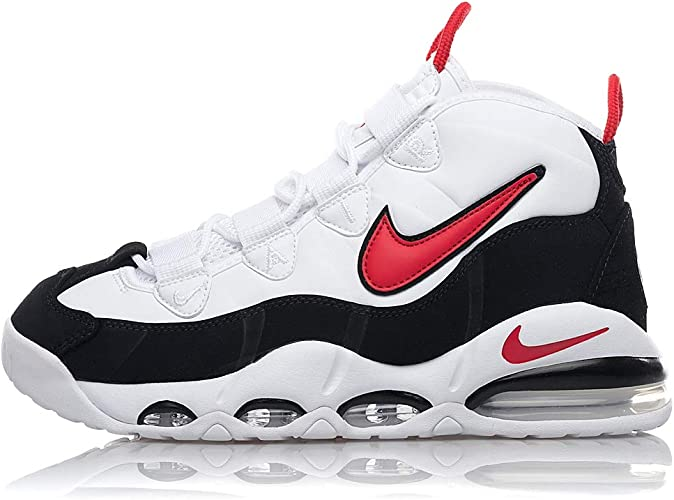 Nike Air Max Uptempo 95 CK0892 101 White University Red Blac