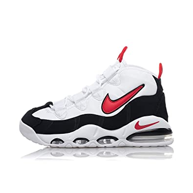 air max red and black and white