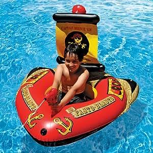 Amazon.com: poolmaster Barco Pirata Con La Acción Squirter ...